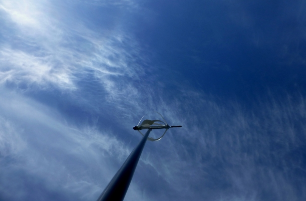 Wind Turbine that is safer for birds, Centralia College, WA