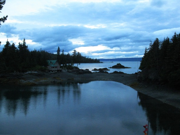 Calm evening, Peterson Bay, Homer, Alaska PHALL PHOTO 2011