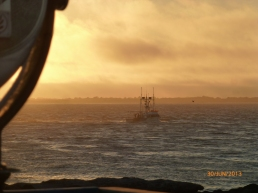 Sun Begins To Set; The Fleet Returns PHALL PHOTO 2013
