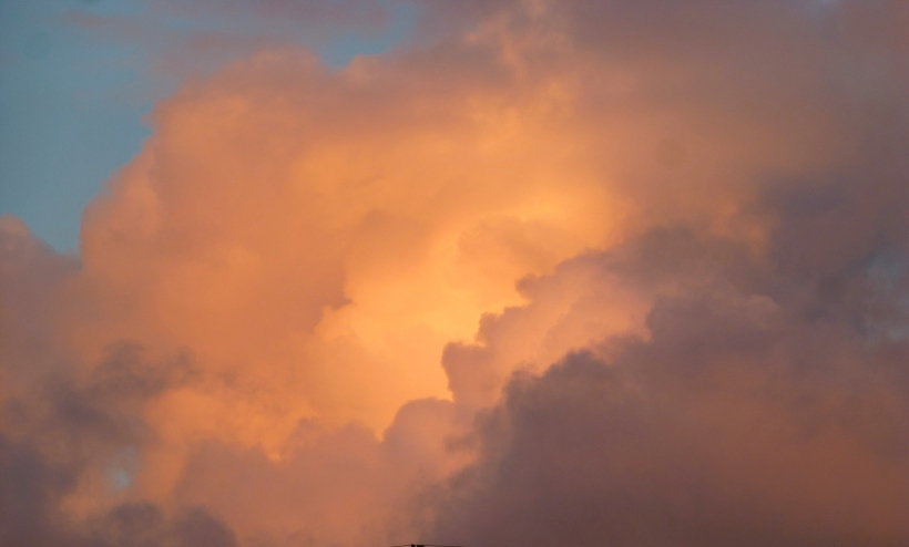 This June evening cloud is not related to the post, except that it is from the same section of sky as seen from my porch. PHALL PHOTO 2013