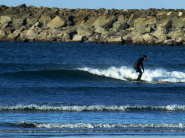 Westport, Washington winter surfer. PHALL PHOTO 2013