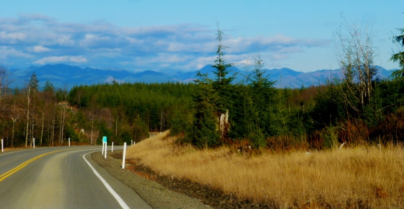 On the road again... Olympic mountains PHALL PHOTO 2013