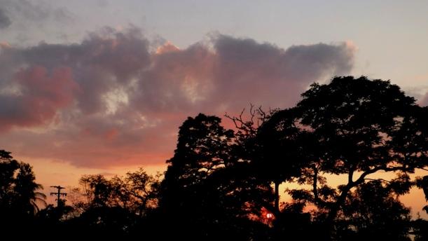 Sunset on Hawaii Island, 2012